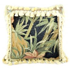 24″x24″ Custom Made Needlepoint Bamboo Pillow 12981071
